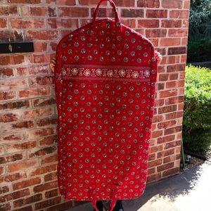 Vera Bradley Red Bandana Garment Bag